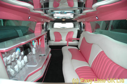 hire a pink hummer