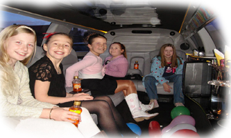 Birthdays London limo hire